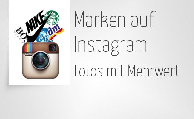 Marken auf Instagram